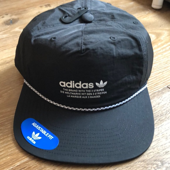77ce4dc9ebe613 adidas Accessories | Originals Relaxed Decon Rope Strapback | Poshmark